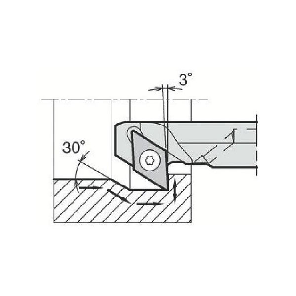 最新情報 A20RSDZCR1127AE-2039:neut 内径加工用ホルダ 京セラ PLOTS-DIY・工具