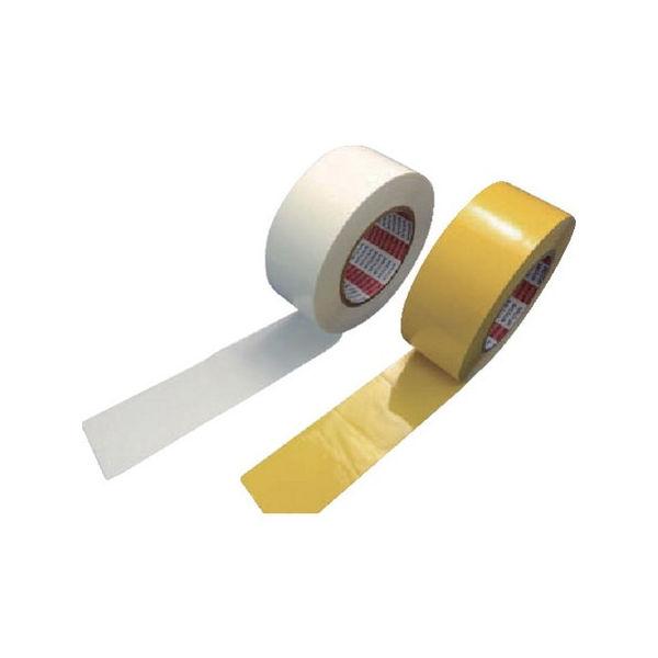 【全品P5倍~10倍】ラインテープ E-OC 100mmX50m 白 日東 EOC100-5038