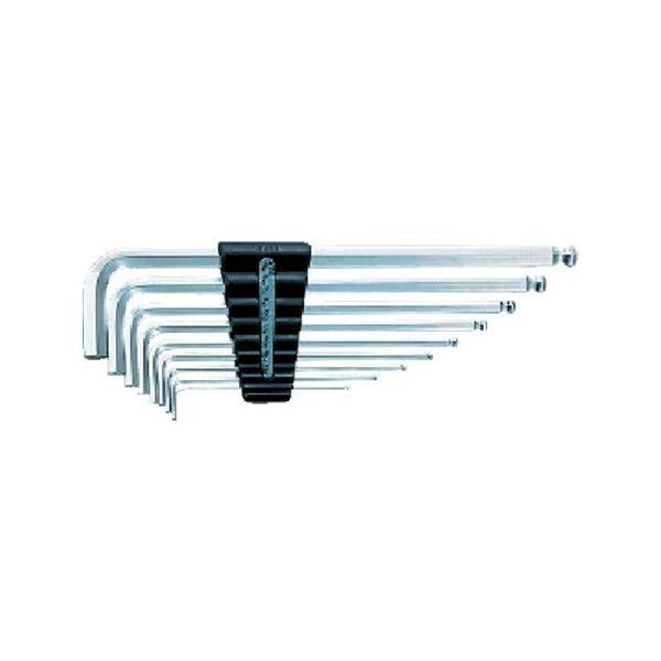 ハイグレードボールポイントL形ロング六角棒レンチセット[9本組] KTC HLD2509B-2285