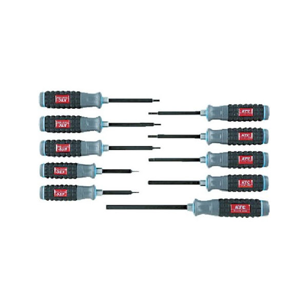 樹脂柄ヘキサゴンドライバセット[10本組] KTC TD1H10B-2285
