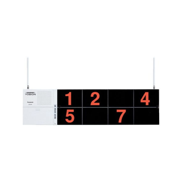 Panasonic サービスコール受信器(固定表示タイプ) ECE3152