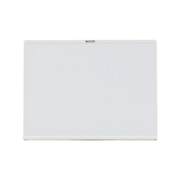 スチール製ホワイトボード 白 450X600 白 TRUSCO トラスコ