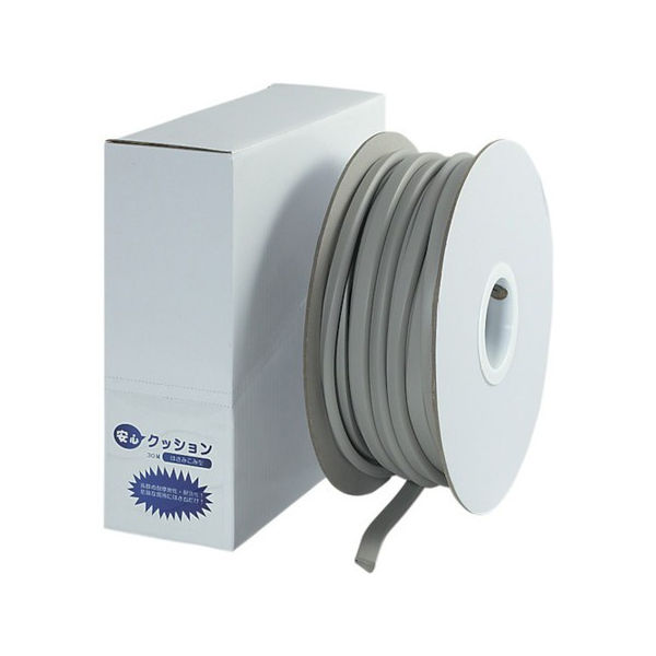 安心クッションはさみこみ型ロール巻き 30m ライトグレー TRUSCO TAC930LG-3100