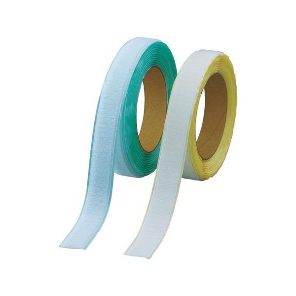 【全品P5倍~10倍】マジックテープ 弱粘着タイプ 100mmX5m 白 TRUSCO TPD1005MTSW-3100
