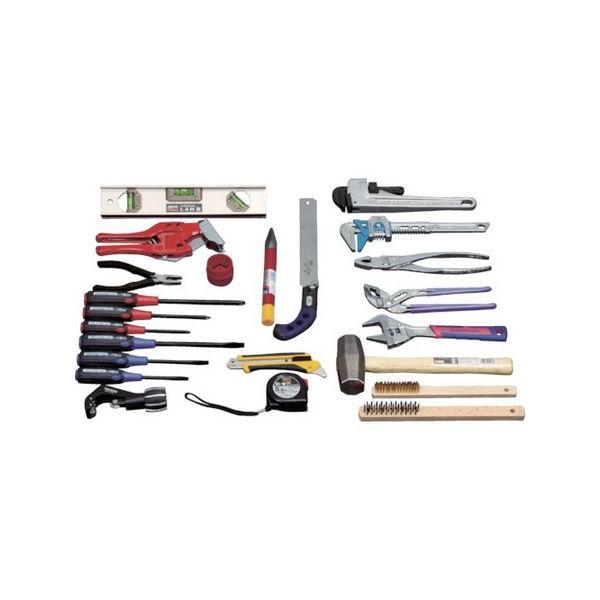 ピカイチ プロ用配管工具セット 24点セット TRUSCO PKH1-3100