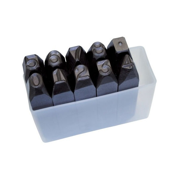 逆数字刻印セット 10mm TRUSCO SKB100-3100 トラスコ
