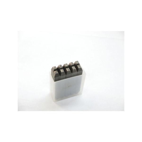 逆数字刻印セット 5mm TRUSCO SKB50-3100 トラスコ