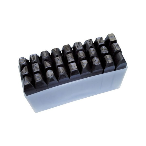 【全品P5倍~10倍】逆英字刻印セット 10mm TRUSCO SKC100-3100 トラスコ