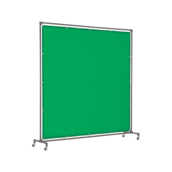 【全品P5倍~10倍】溶接遮光フェンス 2020型単体 緑 TRUSCO YFAGN-3100