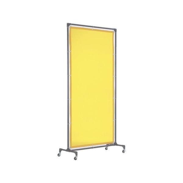 溶接遮光フェンス 1020型単体 黄 TRUSCO YFBY-3100 トラスコ