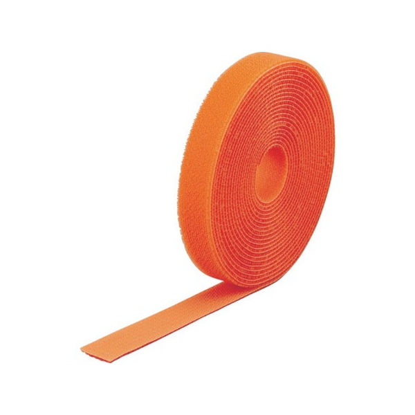 マジック結束テープ 両面 オレンジ 40mm×25m TRUSCO MKT40250OR-3100