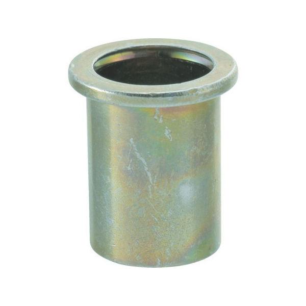 クリンプナット平頭ステンレス 板厚2.5 M10X1.5 100入 TRUSCO TBN10M25SSC-6600
