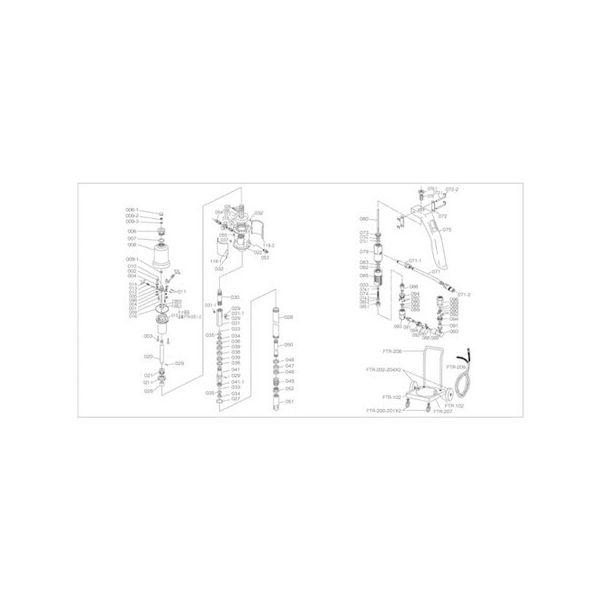 FTR65G用 ベース TRUSCO FTR022-1111 トラスコ