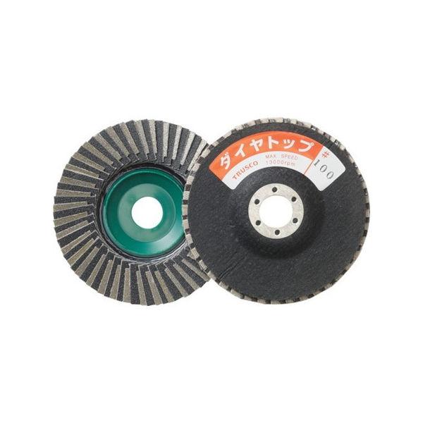 TRUSCO ダイヤトップ ミックスタイプ 100X15X16 100# P-S-DT100-11