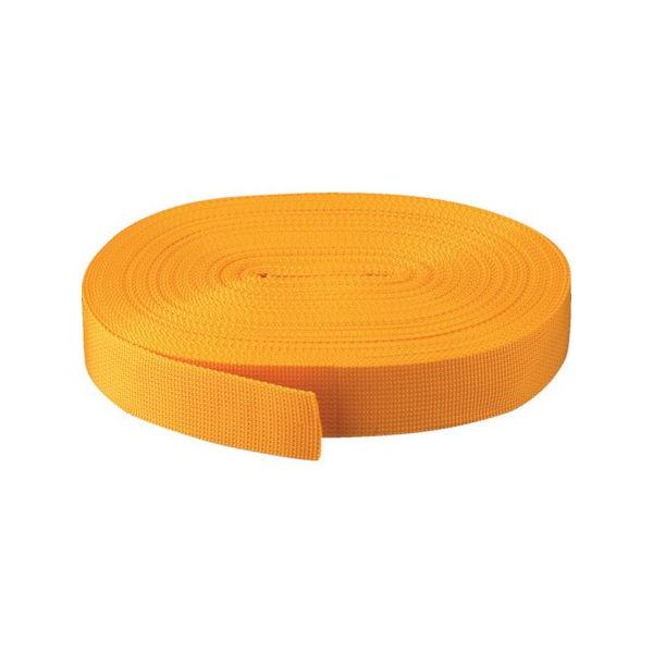 【全品P5倍~10倍】PPベルト幅40mmX長さ50m 黄 TRUSCO PPB4050-3100