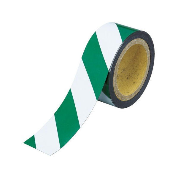 マグネット反射シート 緑・白 100mmX10m TRUSCO TMGH1010GW-8037