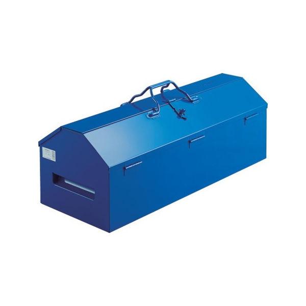 ジャンボ工具箱 600X280X326 ブルー TRUSCO LG600A-4600