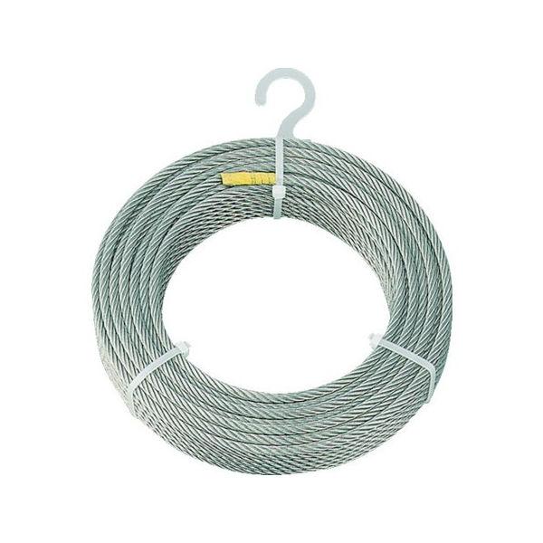 【全品P5倍~10倍】ステンレスワイヤロープ Φ1.0mmX200m TRUSCO CWS1S200-3100