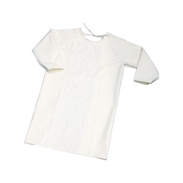 難燃加工綿保護具 袖付前掛け Lサイズ TRUSCO TBKSMKL-3100
