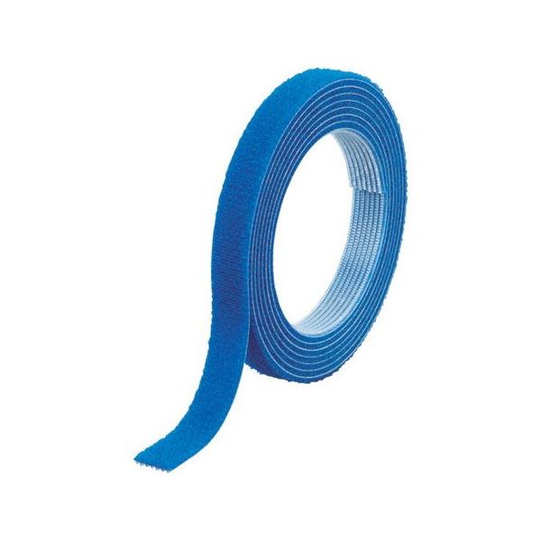 【全品P5倍~10倍】マジックバンド結束テープ 両面 幅40mmX長さ30m 青 TRUSCO MKT40WB-3100