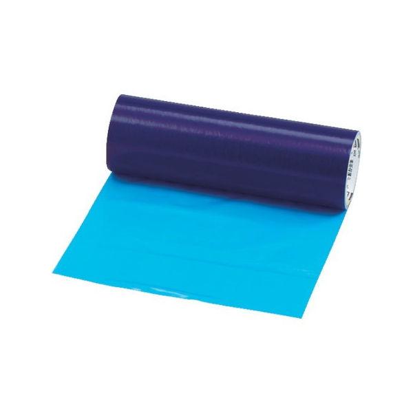 【全品P5倍~10倍】TRUSCO 表面保護テープ 環境対応タイプ ブルー 幅300mmX長サ100m TSPW53B