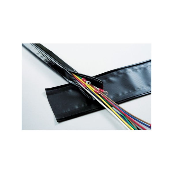 【全品P5倍~10倍】TRUSCO 配線保護結束チューブ ジッパータイプ 70Φ10m GPJ7010