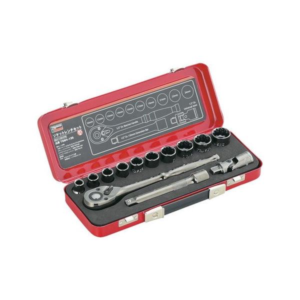 【全品P5倍~10倍】ソケットレンチセット 差込角12.7mm 13S TRUSCO TSW413S-3100