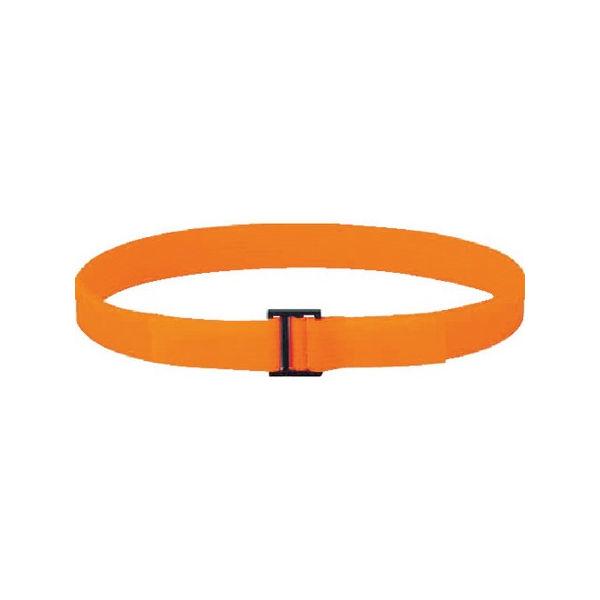 TRUSCO フリーマジック結束テープ 片面 蛍光オレンジ 50mm×25m MKT50BLOR