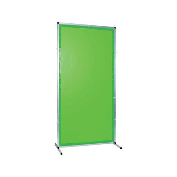 TRUSCO 溶接用遮光フェンス アルミ製 W1000XH1500 グリーン TYAF1015GN