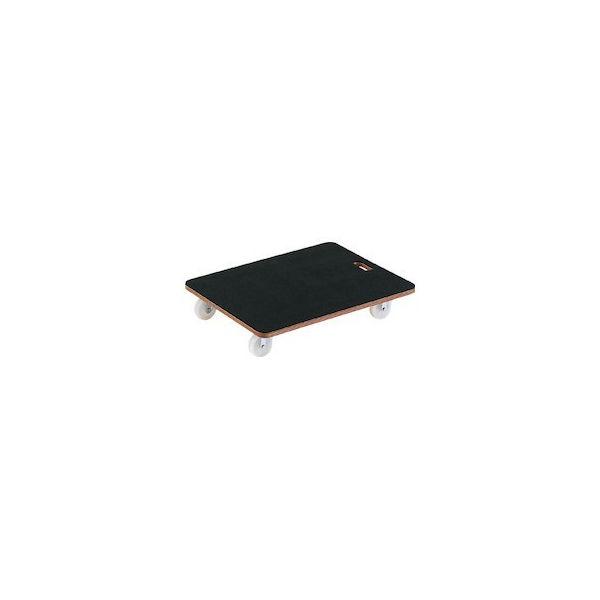 合板平台車プティカルゴ 600X450 ゴム張り ナイロン車 TRUSCO PCG4560-8000