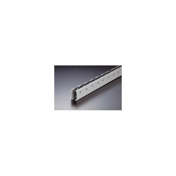 【全品P5倍~10倍】TRUSCO ホイールコンベヤ ゴムライニングΦ40X9 P50X2400 V-40G-50-2400
