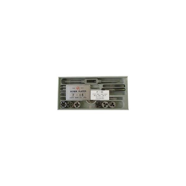 【全品P5倍~10倍】タップダイスセットF-46 ライト F46-8028