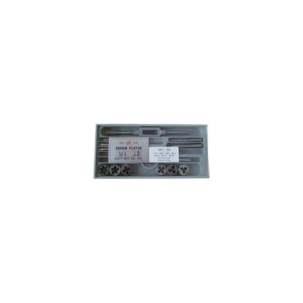 タップダイスセットM4-M12 ライト M412-8028