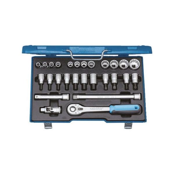 正規店仕入れの ソケットセット PLOTS 1/2 6140090:neut GEDORE D19IMU-10-DIY・工具