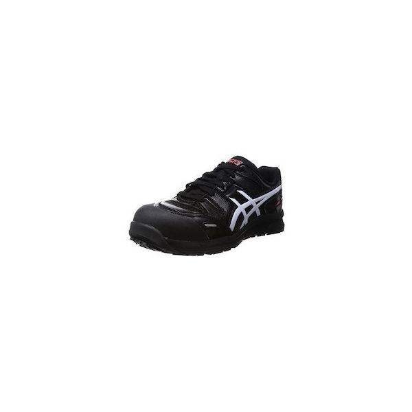 ウィンジョブCP103 ブラックXホワイト 27.0cm アシックス FCP103.900127.0-1393