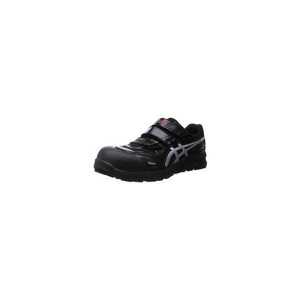 ウィンジョブCP102 ブラックXシルバー 23.0cm アシックス FCP102.909323.0-1393
