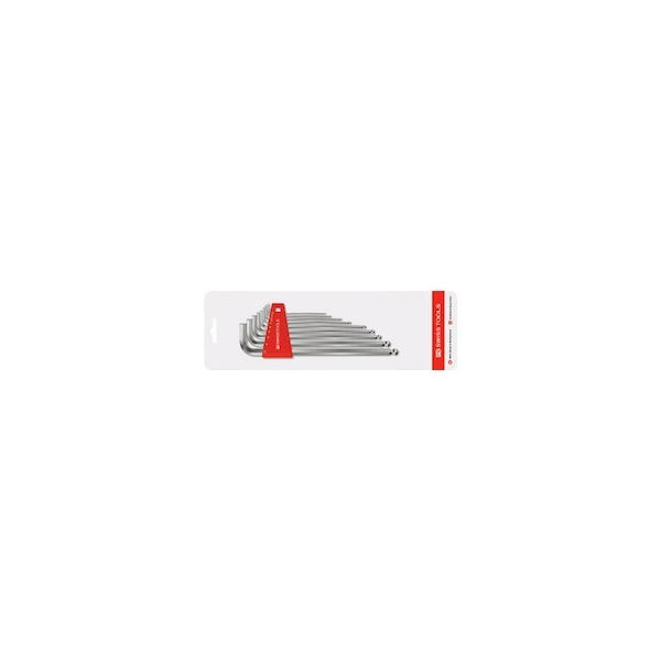 【全品P5倍~10倍】ボール付ロング六角棒レンチセット PBスイスツールズ 212LH10CN-6317