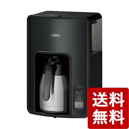 【送料無料】サーモス 真空断熱ポットコーヒーメーカー 1.0L ブラック タイマーで前日予約が可能 ECH-1001-BK THERMOS