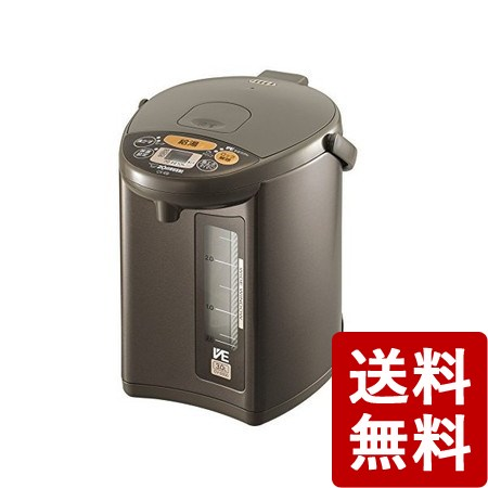 【送料無料】象印 VE電気まほうびん 3.0L ブラウン CV-EB30-TA ZOJIRUSHI