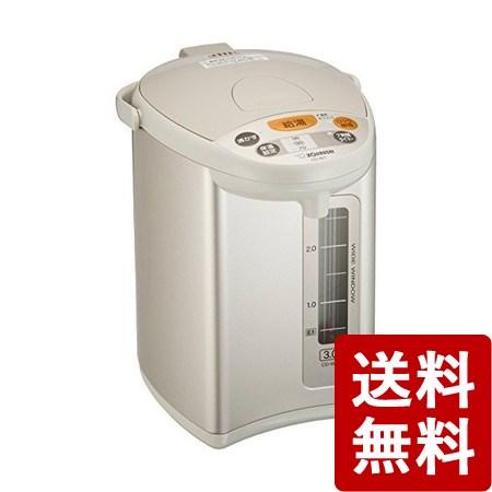 【送料無料】象印 電動ポット 3.0L グレー CD-WY30-HA ZOJIRUSHI