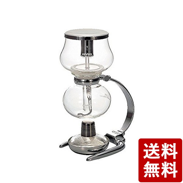 【送料無料】HARIO (ハリオ) コーヒー サイフォン ミニフォン 1杯用 DA-1SV