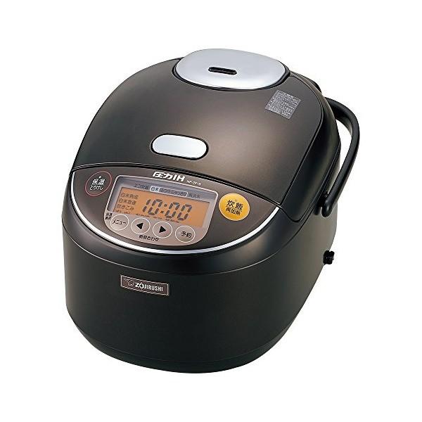 象印(ZOJIRUSHI) 圧力IH炊飯器 1升 ダークブラウン NP-ZF18 NP-ZF18-TD