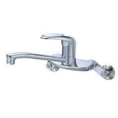 【全品P5倍~10倍】シングルレバー混合栓 CK2710 三栄水栓製作所 SB6029