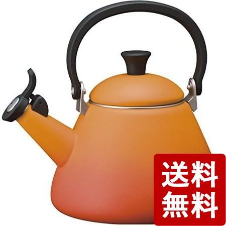 【送料無料】ル クルーゼ ケトル コーン (オレンジ) 920002-00-09