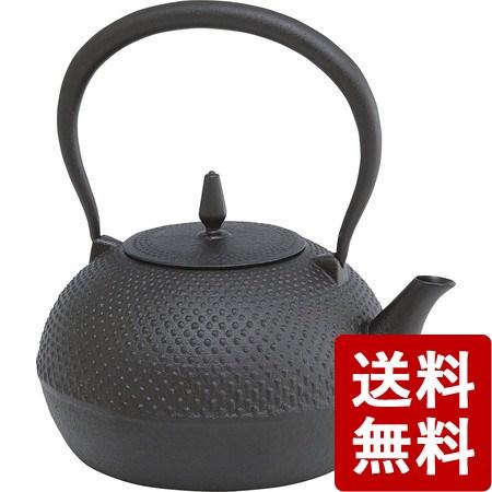 【送料無料】南部鉄瓶 梔子あられ文様1.2L 池永鉄工