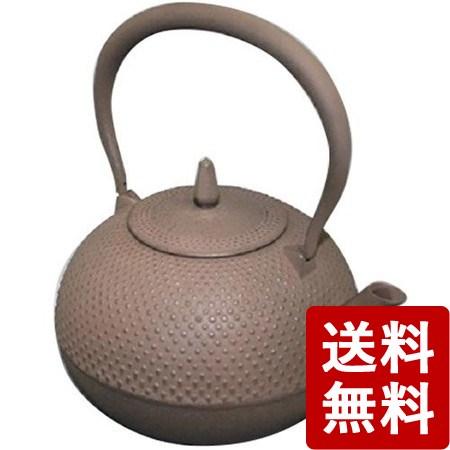 【送料無料】南部鉄瓶 梔子 1.2L 茶(ブラウン) 日本製