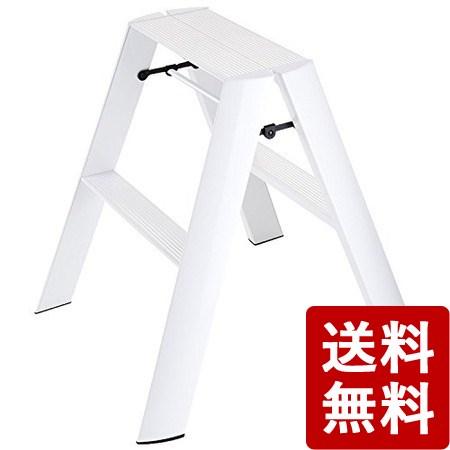メタフィス ルカーノ 2ステップ ホワイト ML2.0-2WH 長谷川工業