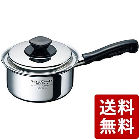 【送料無料】ビタクラフト ヘキサプライ 片手鍋 1.2L 6113 Vita Craft