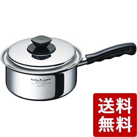 【送料無料】ビタクラフト ヘキサプライ 片手鍋 1.9L 6114 Vita Craft