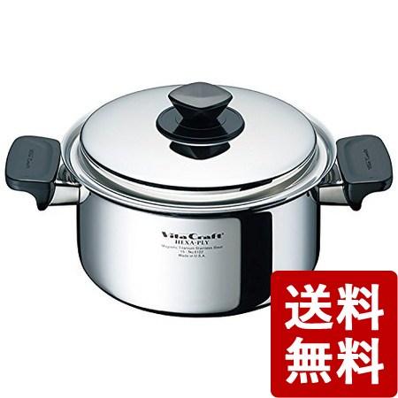 【送料無料】ビタクラフト ヘキサプライ 両手鍋 3.0L 6122 Vita Craft